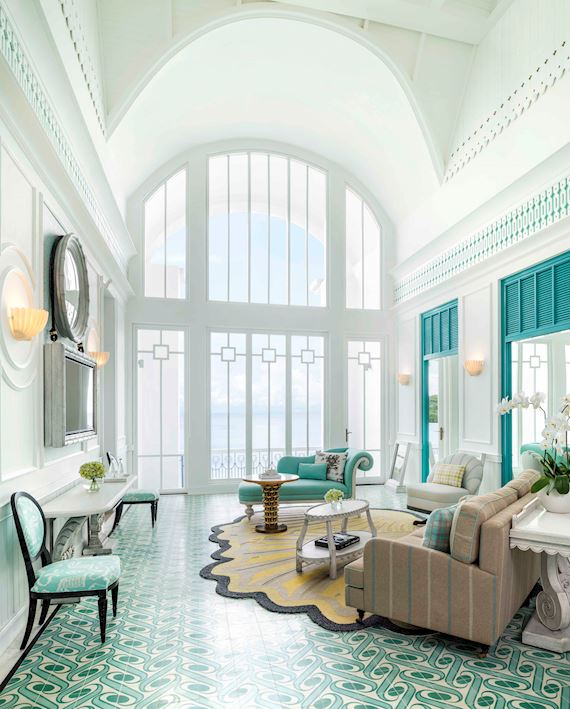 Turquoise Suite - Living Room