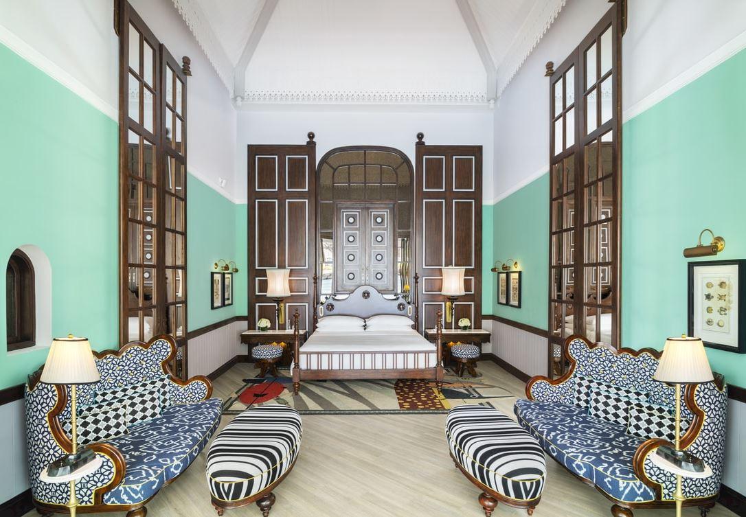 Three-Bedroom Villa - Living room Area